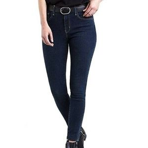 Levi's 26X30 Essential Blue Skinny Jeans 6AS61